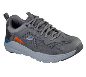 Gray Skechers Relaxed Fit: Verrado - Randen - FINAL SALE