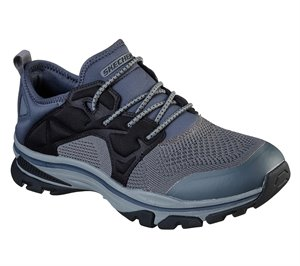 Gray Skechers Relaxed Fit: Ralcon - Stroman - FINAL SALE