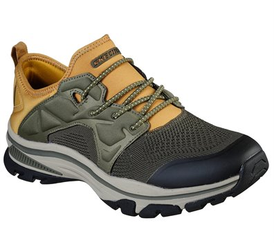 Olive Skechers Relaxed Fit: Ralcon - Stroman