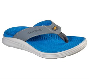 Gray Skechers Relaxed Fit: Sargo - Sunview - FINAL SALE