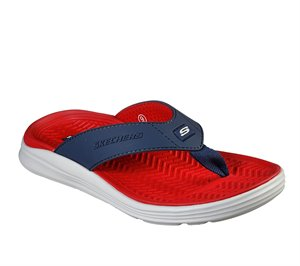 Navy Skechers Relaxed Fit: Sargo - Sunview - FINAL SALE