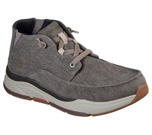 Brown Skechers Relaxed Fit: Benago - Migo - FINAL SALE