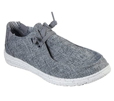 Gray Skechers Relaxed Fit: Melson - Chad - FINAL SALE