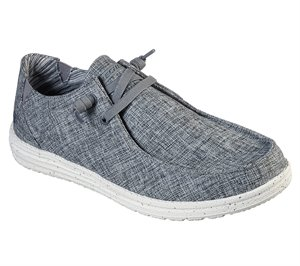 Gray Skechers Relaxed Fit: Melson - Chad EXTRA WIDE FIT