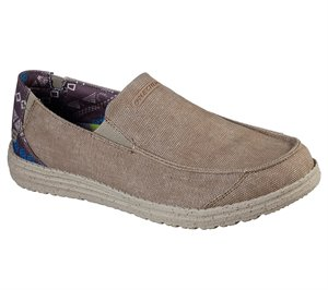 Natural Skechers Relaxed Fit: Melson - Ralo - FINAL SALE