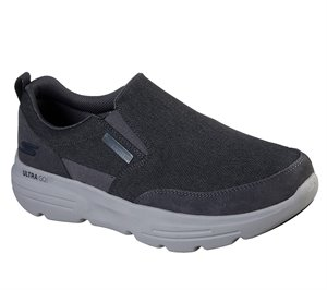 Gray Skechers Skechers GOwalk Duro EXTRA WIDE FIT