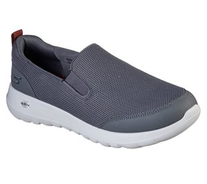Red Gray Skechers Skechers GOwalk Max - Clinched