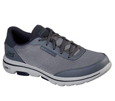 Navy Gray Skechers Skechers GOwalk 5 - Forging