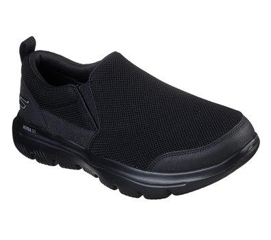 Black Skechers Skechers GOwalk Evolution Ultra - Splinter - FINAL SALE