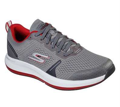 Red Gray Skechers Skechers GOrun Pulse - Specter