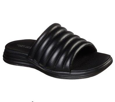 Black Skechers Hyper Sandal - Degree