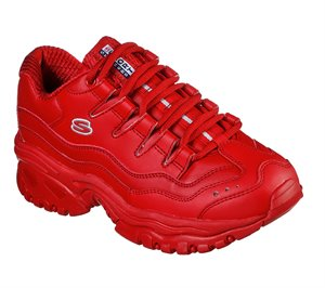 Red Skechers Energy