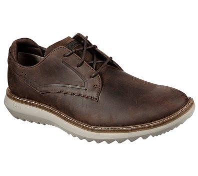Brown Skechers Mako - Bixby