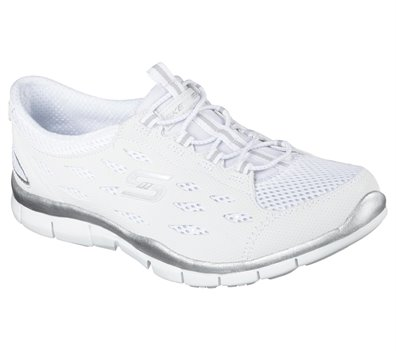 White Skechers Gratis - Going Places