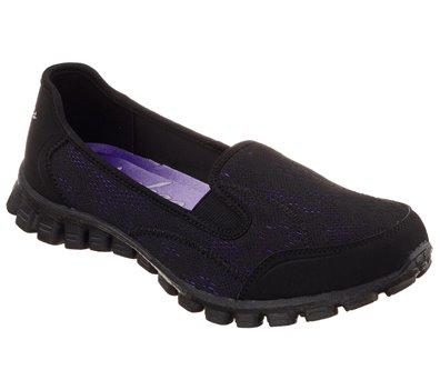vitamina Identificar ampliar  Skechers EZ Flex 2 - This Kiss in PurpleBlack - Skechers Womens Casual on  Shoeline.com