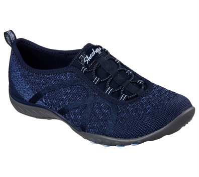 Skechers Relaxed Fit: Breathe Easy Fortune Knit in Navy