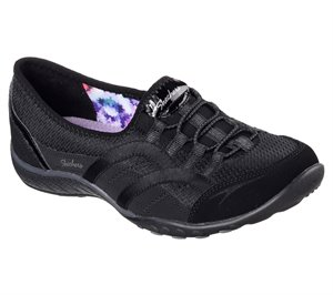 Black Skechers Relaxed Fit: Breathe Easy - Faithful