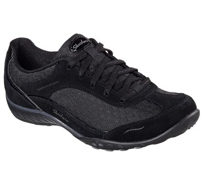 Black Skechers Relaxed Fit; Breathe Easy - Simply Sincere - FINAL SALE