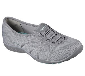 Gray Skechers Relaxed Fit: Breathe Easy - Sweet Jam