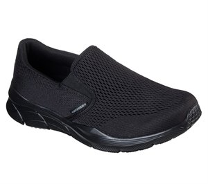 Black Skechers Relaxed Fit: Equalizer 4.0 - Triple-Play