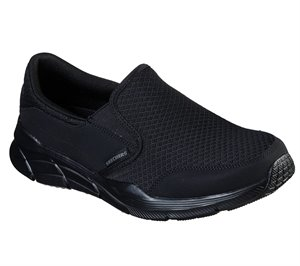 Black Skechers Relaxed Fit: Equalizer 4.0 - Persisting - FINAL SALE