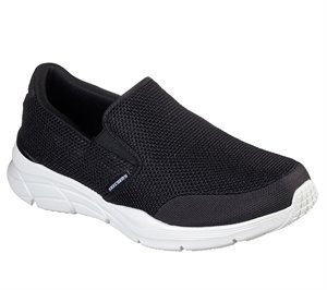 White Black Skechers Relaxed Fit: Equalizer 4.0 - Krimlin