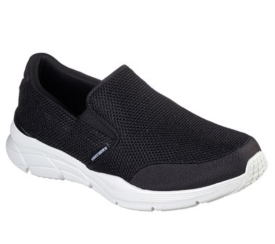 White Black Skechers Relaxed Fit: Equalizer 4.0 - Krimlin - FINAL SALE