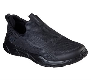 Black Skechers Relaxed Fit: Equalizer 4.0 - Baylock