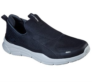 Gray Black Skechers Relaxed Fit: Equalizer 4.0 - Baylock