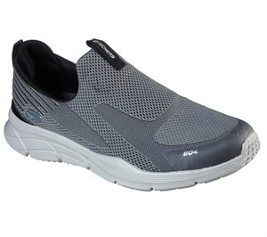 Black Gray Skechers Relaxed Fit: Equalizer 4.0 - Baylock