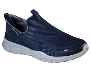 Gray Navy Skechers Relaxed Fit: Equalizer 4.0 - Baylock