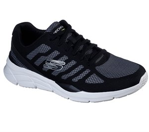 White Black Skechers Relaxed Fit: Equalizer 4.0 - Phairme - FINAL SALE