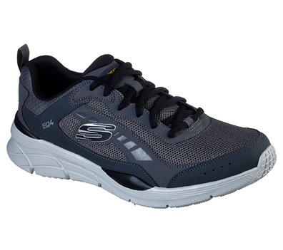 Black Gray Skechers Relaxed Fit: Equalizer 4.0 - Restrike