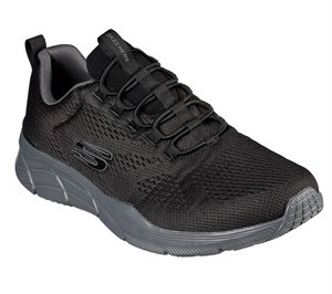 Gray Black Skechers Relaxed Fit: Equalizer 4.0 - Wraithern