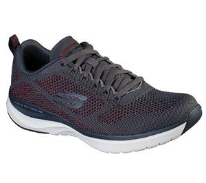 Red Gray Skechers Ultra Groove - Royal Dragoon - FINAL SALE