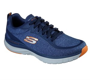 Orange Navy Skechers Ultra Groove - Jarmer - FINAL SALE