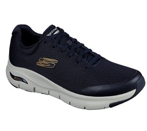 Navy Skechers Skechers Arch Fit EXTRA WIDE FIT - FINAL SALE