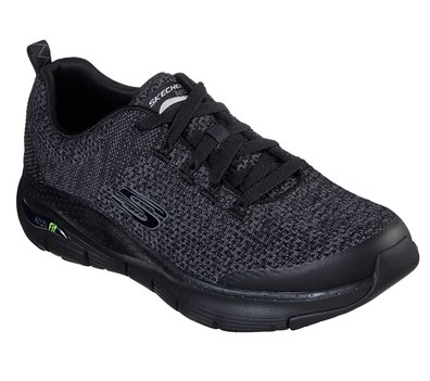 Black Skechers Skechers Arch Fit - Paradyme EXTRA WIDE FIT- FINAL SALE