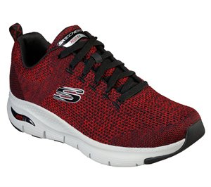 Black Red Skechers Skechers Arch Fit - Paradyme EXTRA WIDE FIT- FINAL SALE