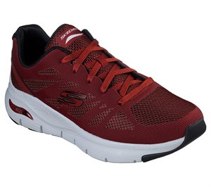 Red Skechers Skechers Arch Fit - Charge Back - FINAL SALE