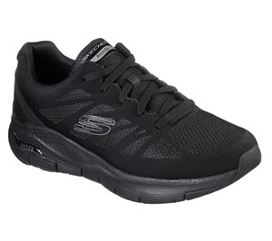 Black Skechers Skechers Arch Fit - Charge Back EXTRA WIDE FIT - FINAL SALE