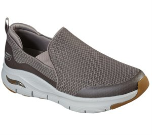 Natural Skechers Skechers Arch Fit - Banlin EXTRA WIDE FIT - FINAL SALE