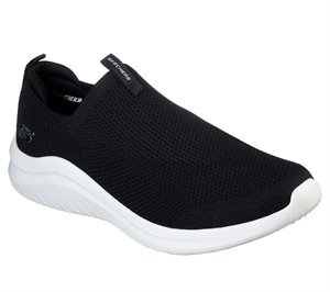 White Black Skechers Ultra Flex 2.0 - Kwasi - FINAL SALE