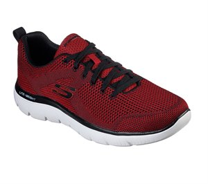 Black Red Skechers Summits - Brisbane - FINAL SALE