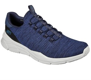 Blue Navy Skechers Relaxed Fit: Equalizer 4.0 - Voltis EXTRA WIDE FIT - FINAL SALE