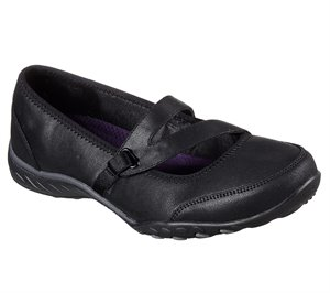 Black Skechers Relaxed Fit: Breathe Easy - Calmly