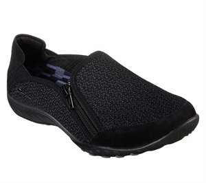 Black Skechers Relaxed Fit: Breathe Easy - Quiet-Tude