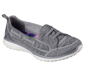 Gray Skechers Microburst - Topnotch