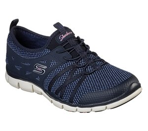 Navy Skechers Gratis - What A Sight