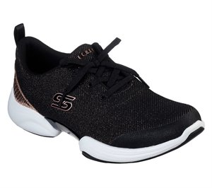 Gold Black Skechers Skech-Lab - Snazzy Spirit